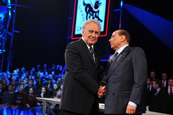 BerlusconiSantoroGetty