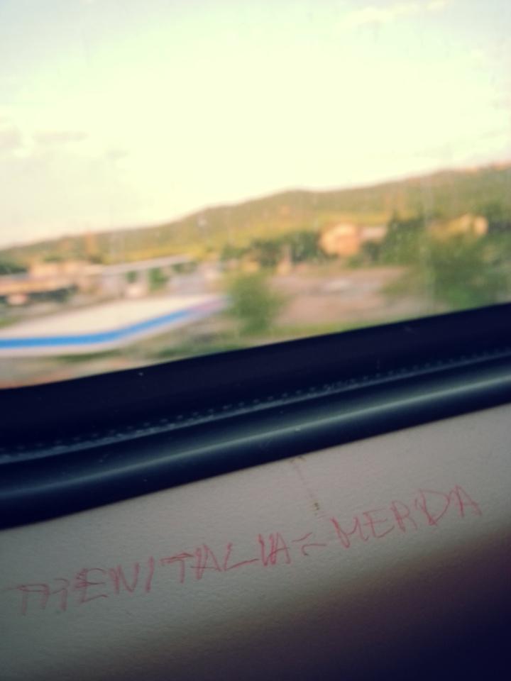 Trenitalia merda