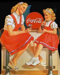 Una delle prime pubblicità Coca Cola