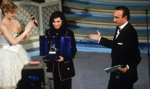 Baudo premia Laura Pausini
